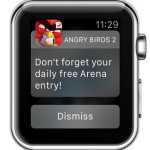 angry birds 2 apple watch notification