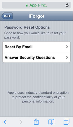 how to change your itunes id and password