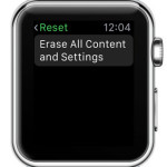 apple watch reset feature