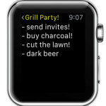expanded apple watch note view