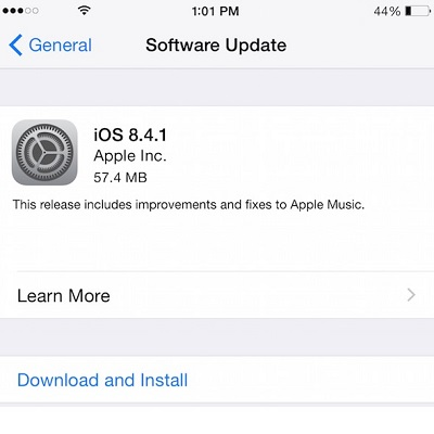 how to stop ios update iphone 4