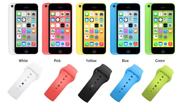 iphone 6c colors. iphone 6c matching apple watch colors