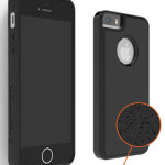 iPhone anti-gravity case with nano-suction material