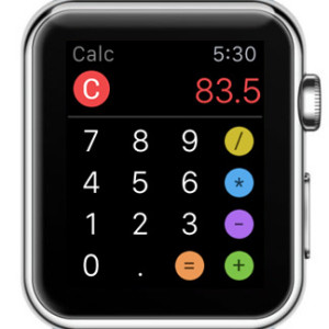 moveo calc apple watch screenshot