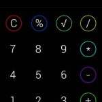 moveo calc iphone interface