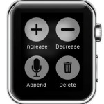 notes for watch force touch options
