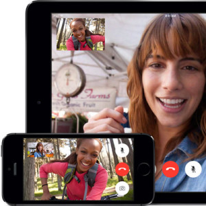 ongoing ios facetime call