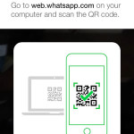 whatsapp web qr code scanner