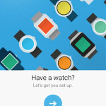 android wear for ios home screen