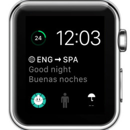 apple watch displaying third party watchos 2 complications
