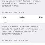 ios 9 3d touch settings menu