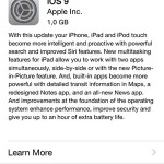 ios 9 software update info