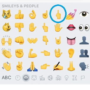 iOS 9 1 Adds Middle Finger Emoji Along Many Others