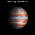 ios 9.1 planet wallpaper