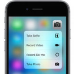 iphone 6s 3d touch camera app menu