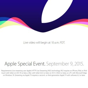iphone 6s release live stream