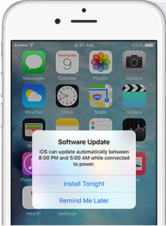 automatic updates iphone ios 9 ota automatic software update feature iphonetricks org 10200
