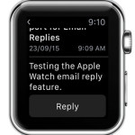 reading mail on apple watch