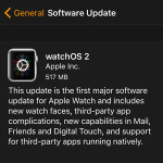 Breaking: WatchOS 2 Update Now Available For Apple Watch