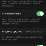 watchos 2 mute reminders for one day setting