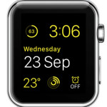 yellow watch face color