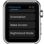 apple watch wake screen settings