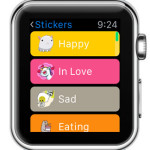 facebook messenger apple watch stickers