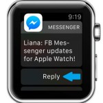 Facebook Messenger Now With Apple Watch Support