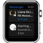 facebook messenger watchos 2 home screen