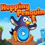 Collect Ice Creams With The Hopping Penguin