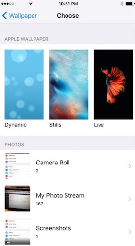 How To Create Live Wallpapers For Iphone 6s Iphonetricks Org