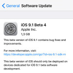 iOS 9.1 Public Beta 4 Seeded By Apple
