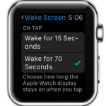 How To Extend The Apple Watch Wake Screen Display Time