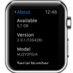 watchos 2.0.1 version number
