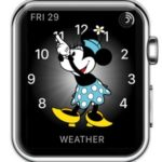 Minnie Mouse apple watch face