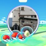 collecting items from pokestop