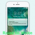 The iOS 10 Raise To Wake iPhone Feature