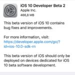 iOS 10 Developer Beta 2 Available For Download