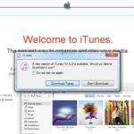 itunes update available prompt