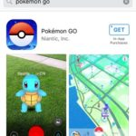 pokemon go app store download page