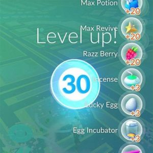 pokemon go level 30
