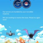 pokemon go servers downtime screen