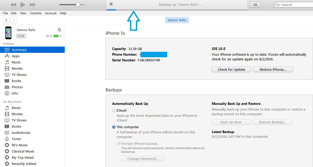 how to perform a full iphone backup via itunes iphonetricks org