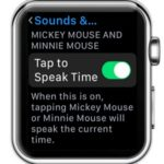 watchos 3 tap to speak time option