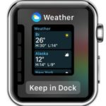 adding app to watchos 3 dock
