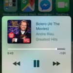 ios 10 contol center now playing panel