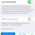 low power mode settings
