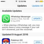 whatsapp messenger software update