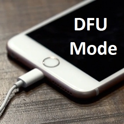 how to put iphone into dfu mod