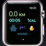 pokemon go apple watch walked distance and calories
